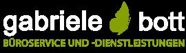 Büroservice und –dienstleistungen Gabriele Bott